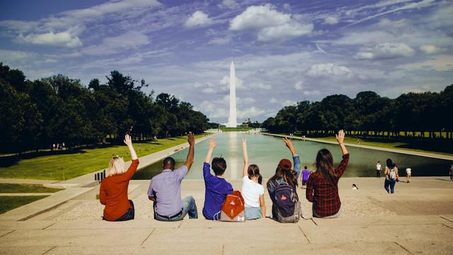 Students in Washington D.C.