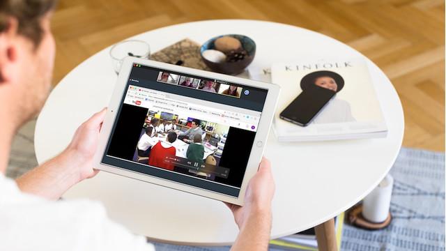AU Online Class iPad